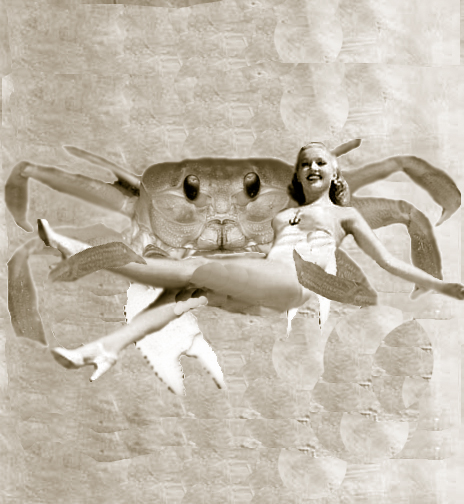 What if Buster Crabbe was a crab?