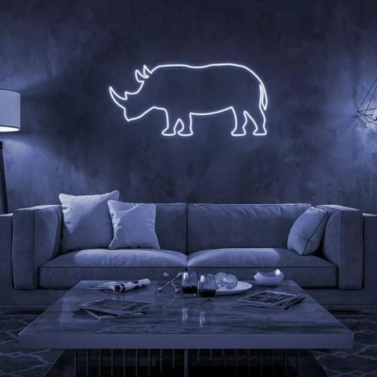 Rinoceronte Neón