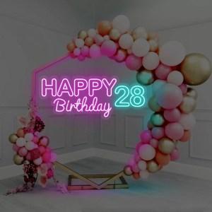 alquiler neon cumpleaños