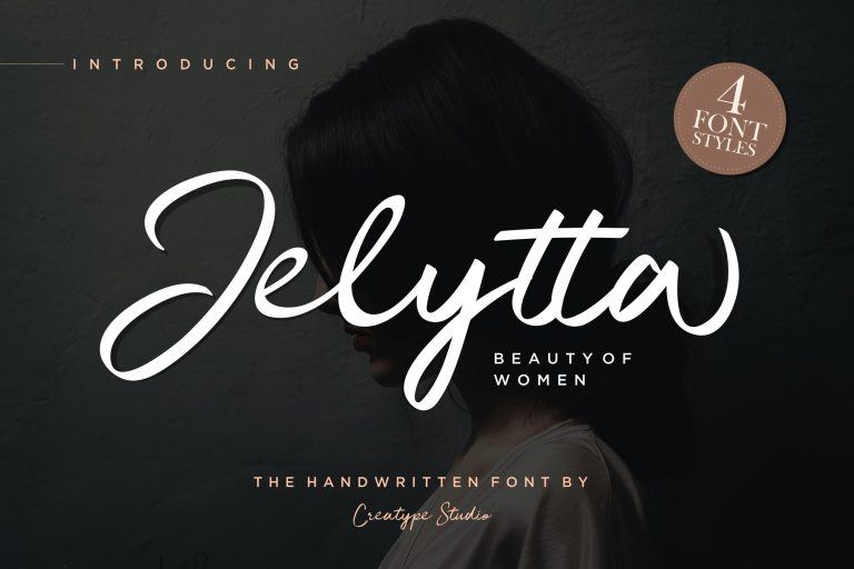 Preview image of Jelytta Handwritten Script