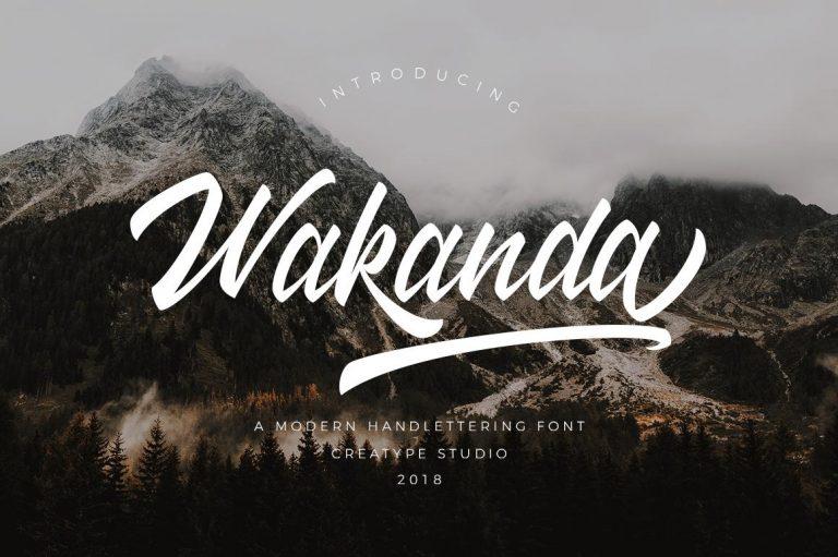 Preview image of Wakanda Script