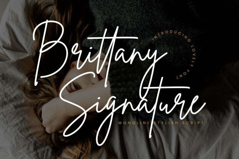 Preview image of Brittany Signature Script