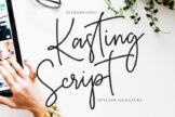 Last preview image of Kasting Script Signature