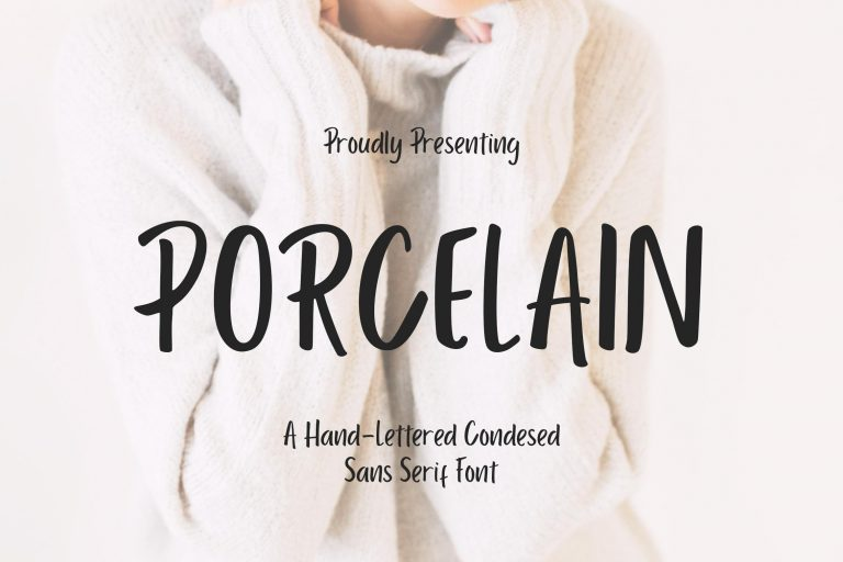 Preview image of Porcelain Sans Serif