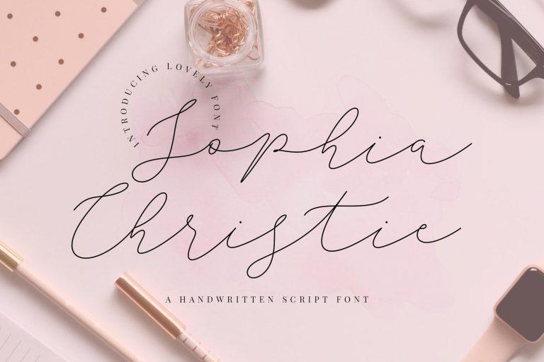 Preview image of Sophia Christie Script