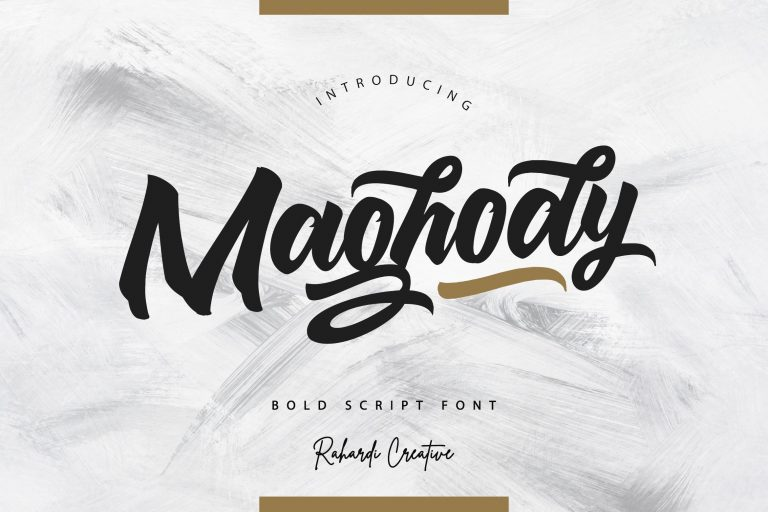 Preview image of Maghody Script