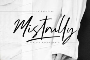 Mistrully Brush Script