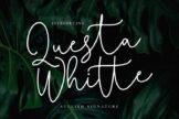Last preview image of Questa Whitte Script