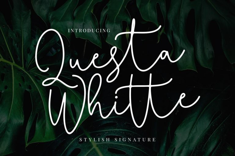 Preview image of Questa Whitte Script