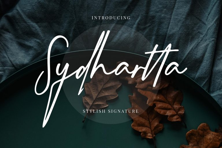 Preview image of Sydhartta Stylish Signature
