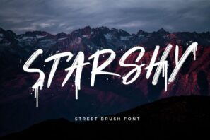 Starshy Street Brush