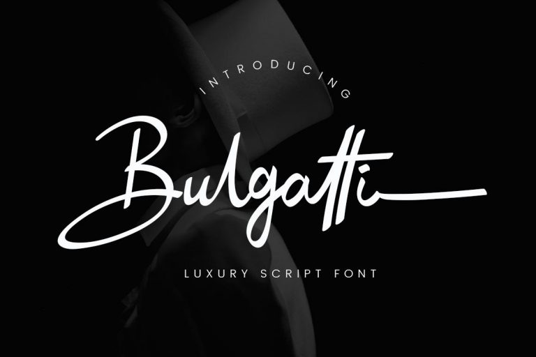 Preview image of Bulgatti Luxury Script
