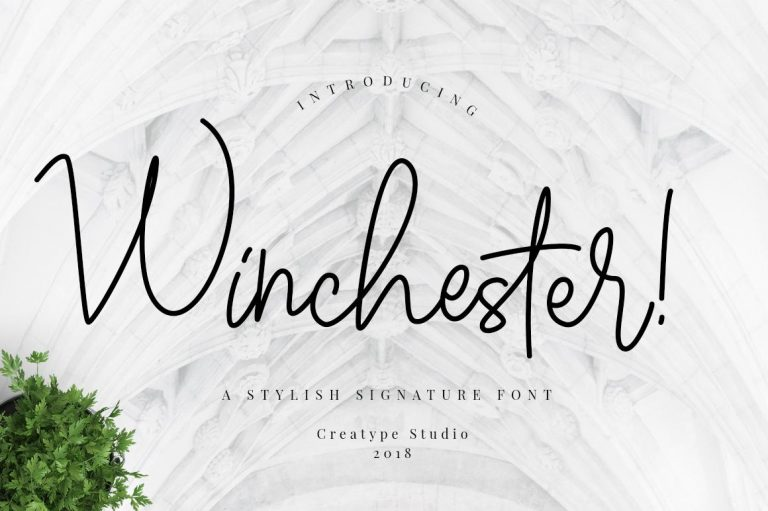 Preview image of Winchester Signature Script