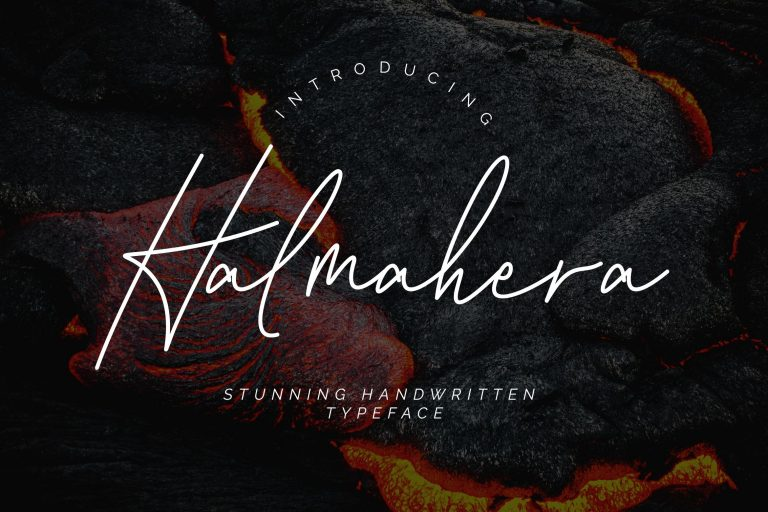 Preview image of Halmahera Handwritten Script