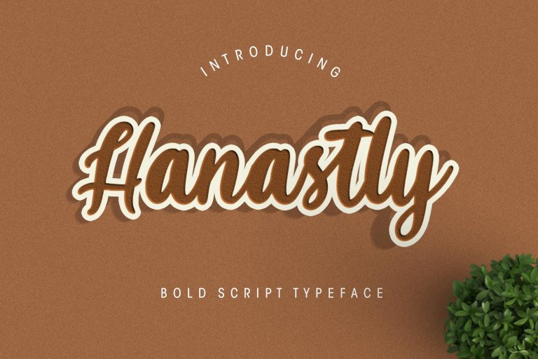 Preview image of Hanastly Bold Script