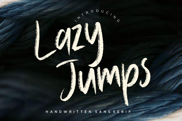 Preview image of Lazy Jumps Sans Serif