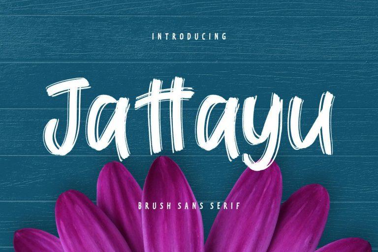 Preview image of Jattayu Sans Serif Brush