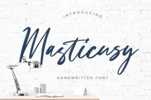 Masticusy Handwritten
