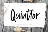 Last preview image of Quinttor Sans Serif