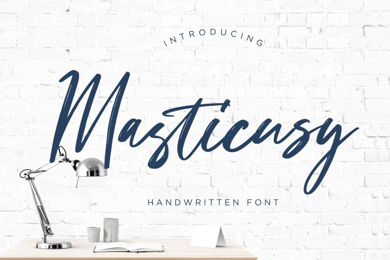 Preview image of Masticusy Handwritten