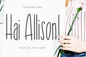Hai Allison Fun Display