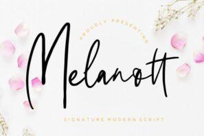 Melanott Modern Signature