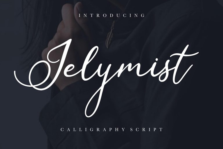 Preview image of Jelymist Calligraphy Script