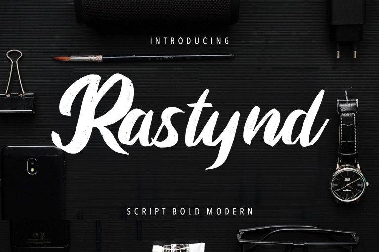 Preview image of Rastynd Script Bold Modern
