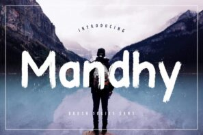 Mandhy Brush Series Sans