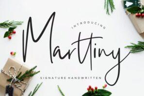 Marttiny Signature Handwritten