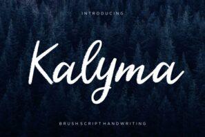Kalyma Brush Script