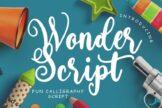 Last preview image of Wonder Script Fun Calligraphy