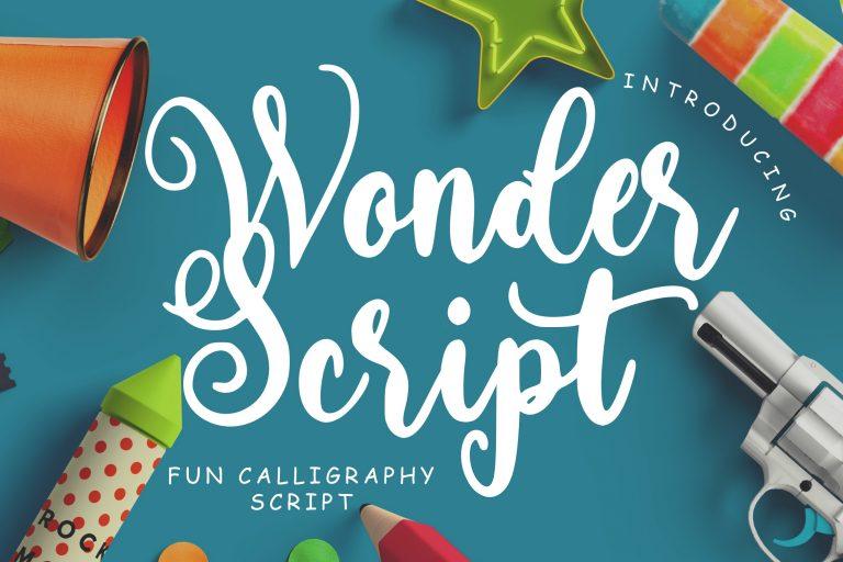 Preview image of Wonder Script Fun Calligraphy