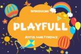 Last preview image of Playfull Joyful Sans