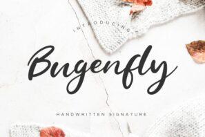 Bugenfly Handwritten Signature