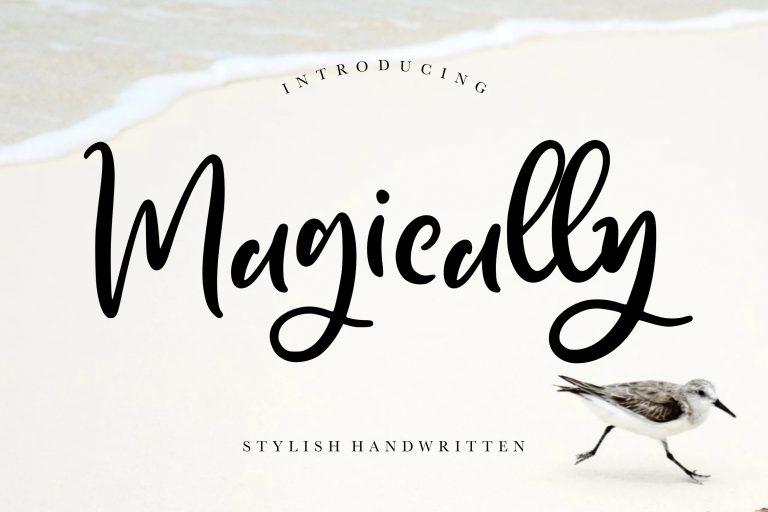 Preview image of Magically Stylish Handwritten