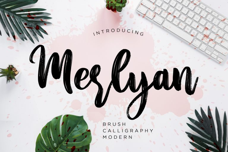 Preview image of Merlyan Brush Calligraphy