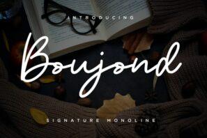 Boujond Signature Monoline