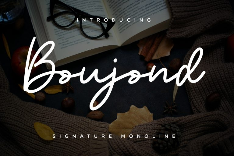 Preview image of Boujond Signature Monoline