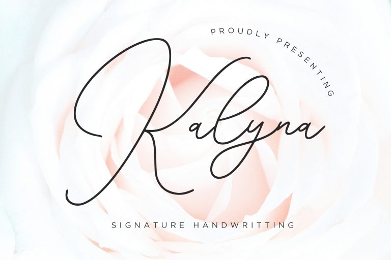 Preview image of Kalyna Signature Handwriting