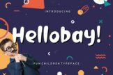 Last preview image of Hellobay Fun Children Typeface