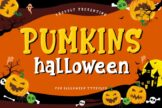 Last preview image of Pumkins Halloween