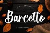 Last preview image of Barcetto Handwritten Brush