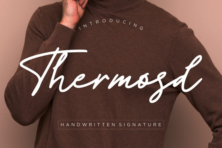 Preview image of Thermosd Handwritten Signature