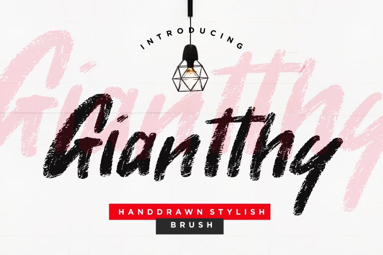 Preview image of Giantthy Handdrawn Stylish Brush
