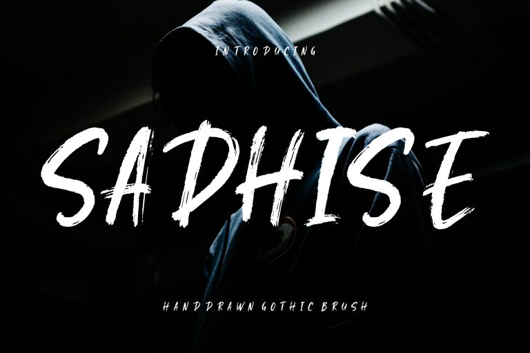 Preview image of Sadhise Handdrawn Gothic Brush