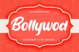 Last preview image of Bollywod Handwritten Brush