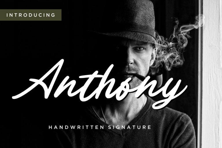 Preview image of Anthony Handwritten Signature