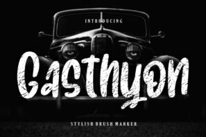 Gasthyon Stylish Brush Marker