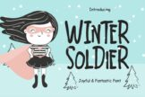 Last preview image of Winter Soldier Joyful & Fantastic